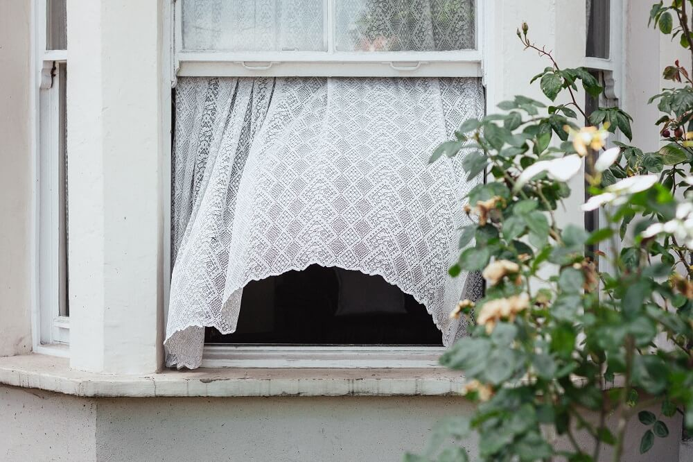 an open window allows fresh air