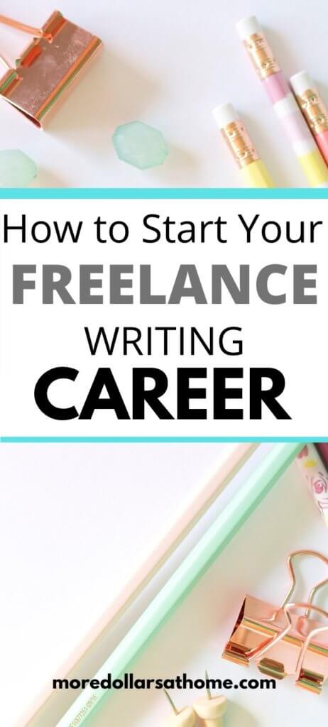 Breaking into Freelance Writing