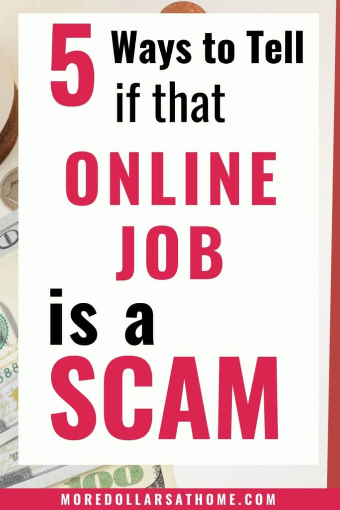 ways to tell online scams