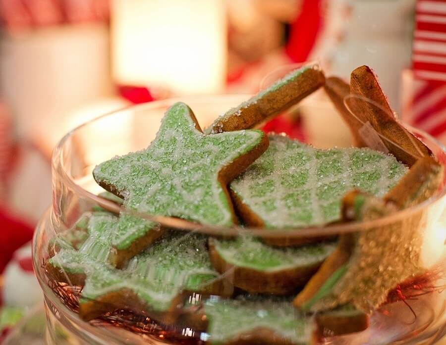 Baking gifts is great for saving money and having a special Christmas