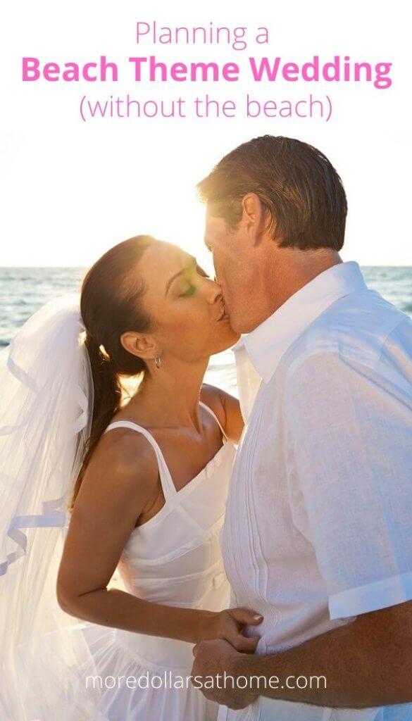 planning a beach themed wedding
