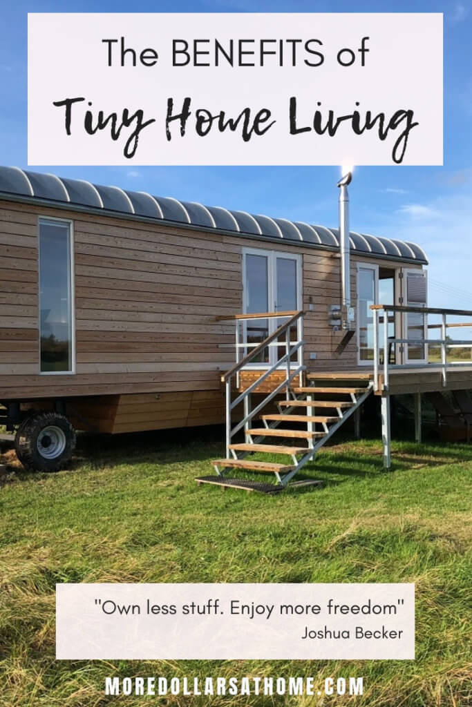 Tiny houses drastically reduce the money needed for housing. A tiny house on wheels enables you to travel. Save money with a tiny house. #tinyhouse #tinyhome #house #nomortgage #getoutofdebt