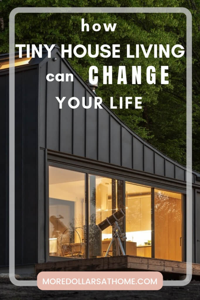 Reduce your costs and no mortgage. Tiny house living can change your life. Read the benefits of tiny home living. #tinyhouse #tinyhome #homeonwheels #mortgagefree #outofdebt