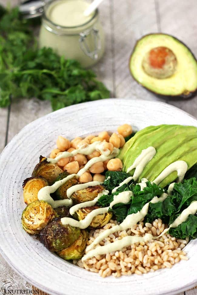 Green Power Bowl is a dinner recipe ready in 15 minutes