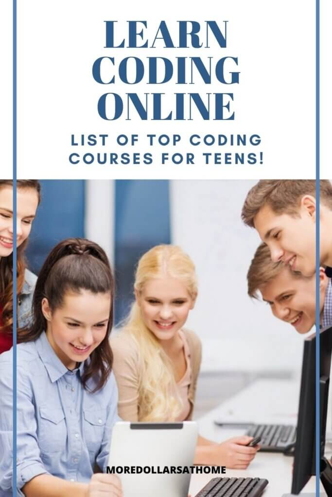 teens learning to code online