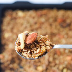 Brown Butter Nutty Granola